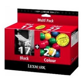 17 + 27 Pack | 80D2952E струйный картридж Lexmark, 205 + 100 стр., черный + цветной