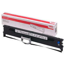 43503602 Ribbon cartridge матричный картридж OKI, 4М знаков, черный