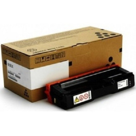Ricoh 407543 оригинальный лазерный картридж ресурс печати - 2 000 страниц, черный