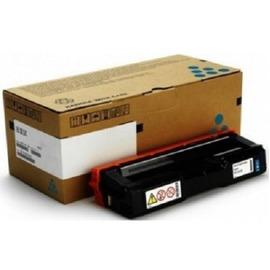 Ricoh 407544 оригинальный лазерный картридж ресурс печати - 1 600 страниц, голубой