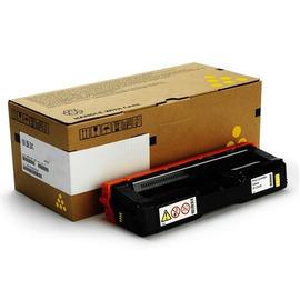 Ricoh 407546 оригинальный лазерный картридж ресурс печати - 1 600 страниц, желтый