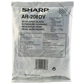 AR-208DV Developer тонер / девелопер Sharp, 2 500 стр., черный