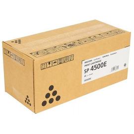 Ricoh SP 4500E оригинальный лазерный картридж ресурс печати - 6 000 страниц, черный