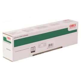 Oki 45862848/45862818 оригинальный лазерный картридж ресурс печати - 15 000 страниц, черный