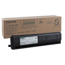 Toshiba T-1810E 5K оригинальный лазерный картридж ресурс печати - 5 000 страниц, черный