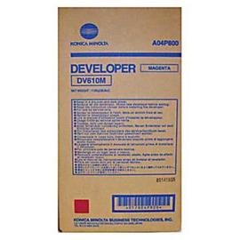DV-610M Developer | A04P800 (Konica Minolta) тонер / девелопер - 340 000 стр, пурпурный