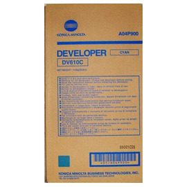 DV-610C Developer | A04P900 тонер / девелопер Konica Minolta, 340 000 стр., голубой