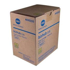 Konica Minolta A0X5253 оригинальный лазерный картридж ресурс печати - 6 000 страниц, желтый