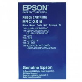ERC-38B Black Ribbon | C43S015374 матричный картридж Epson, 3М знаков, черный