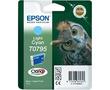 T0795 Light Cyan | C13T07954010 (Epson) струйный картридж - 560 стр, светло-голубой