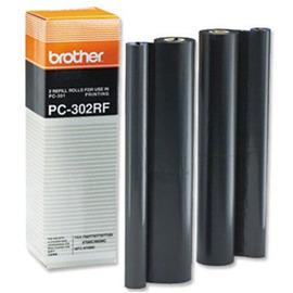 PC-302RF (Brother) факсовая плёнка - 2 x 250 стр, черный