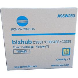 TNP-49Y Toner | A95W250 (Konica Minolta) тонер картридж - 12 000 стр, желтый