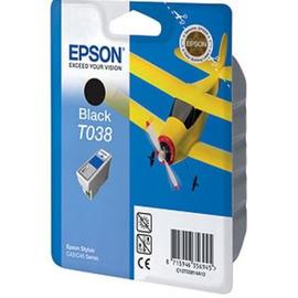 T038 Black | C13T03814A10 (Epson) струйный картридж - 220 стр, черный