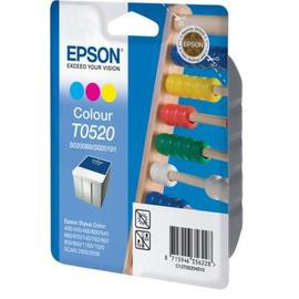 T0520 Color | C13T05204010 (Epson) струйный картридж - 300 стр, цветной