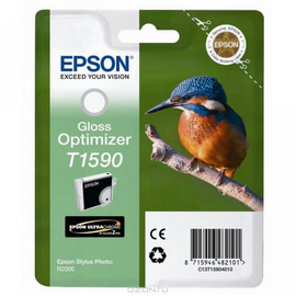 Уценка! T1590 Gloss Optimizer | C13T15904010 (Epson) струйный картридж - 850 стр, глянец