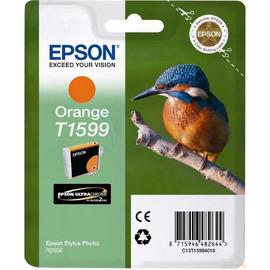 T1599 Orange | C13T15994010 (Epson) струйный картридж - 850 стр, оранжевый