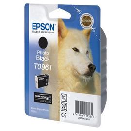 T0961 Photo Black | C13T09614010 (Epson) струйный картридж - 450 стр, черный-фото