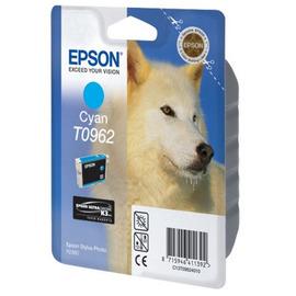 T0962 Cyan | C13T09624010 (Epson) струйный картридж - 1 505 стр, голубой