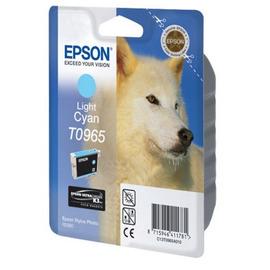 T0965 Light Cyan | C13T09654010 (Epson) струйный картридж - 865 стр, светло-голубой
