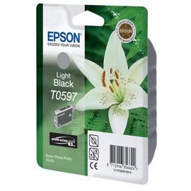 Уценка! T0597 Grey | C13T05974010 (Epson) струйный картридж - 6 210 стр, серый