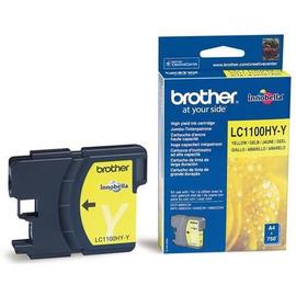 LC-1100HYY Yellow струйный картридж Brother, 750 стр., желтый