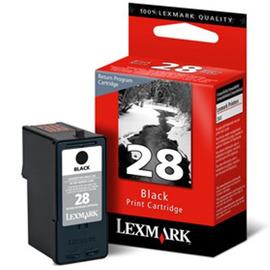 28 Black | 18C1428E струйный картридж Lexmark, 175 стр., черный