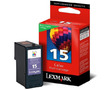 Lexmark 35XL 18C0035E оригинальный струйный картридж ресурс печати - 150 страниц, цветной