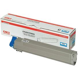OKI 42918915 оригинальный лазерный картридж ресурс печати - 15 000 страниц, голубой