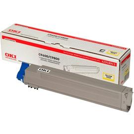 OKI 42918913 оригинальный лазерный картридж ресурс печати - 15 000 страниц, желтый