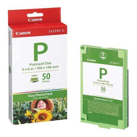 E-P50 Ink/Paper Set | 1247B001 сублимационный Canon, 50 фото, цветной набор + фотобумага