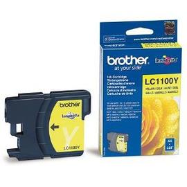 LC-1100Y (Brother) струйный картридж - 325 стр, желтый