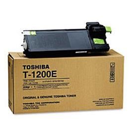 Toshiba T-1200E оригинальный лазерный картридж ресурс печати - 8 000 страниц, черный