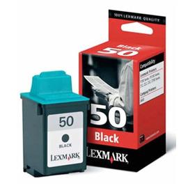 50 Black | 17G0050E струйный картридж Lexmark, 400 стр., черный