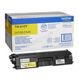TN-910Y (Brother) тонер картридж - 9000 стр, желтый