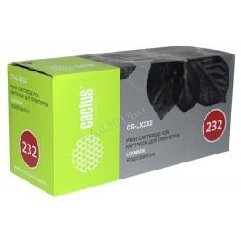 CS-LX232 тонер картридж Cactus 24016SE Black, 2500 стр., черный