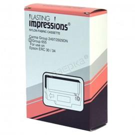 Li ERC-30 Black Ribbon | C43S015451 матричный картридж, черный + красный