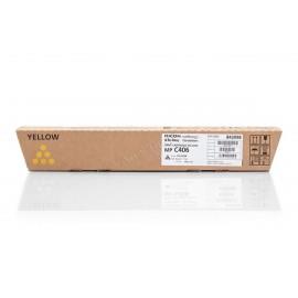 MP C406Y | 842098 (Ricoh) тонер картридж - 6000 стр, желтый