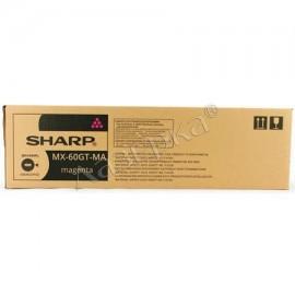 MX-60GTMB Toner Magenta тонер картридж Sharp, 24000 стр., пурпурный