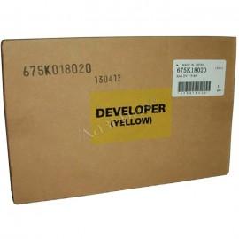 675k18020 Developer Yellow (Xerox) тонер / девелопер - 80000 стр, желтый