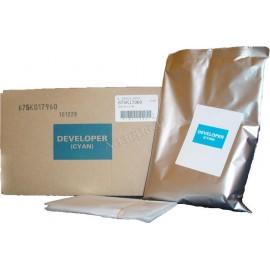 675k17960 Developer Cyan (Xerox) тонер / девелопер - 80000 стр, голубой