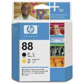 HP 88 Printhead Bl+Y | C9381A оригинальный печатающая головка, черный + желтый 90000 стр