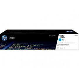 117A Cyan | W2071A (HP) лазерный картридж - 700 стр, голубой