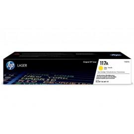 117A Yellow | W2072A (HP) лазерный картридж - 700 стр, желтый