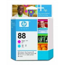 HP 88 Printhead M+C | C9382A оригинальный печатающая головка, пурпурный + голубой 90000 стр