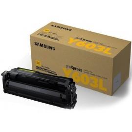 Samsung CLT-Y603L Yellow | SV253A оригинальный лазерный картридж, желтый 10000 стр.