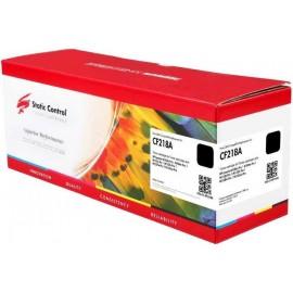 18A Black | CF218A (Static Control) тонер картридж - 1400 стр, черный