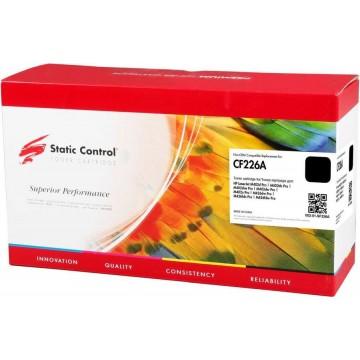 Static Control 002-01-SF226A совместимый лазерный картридж 26A Black   CF226A - черный, 3100 стр