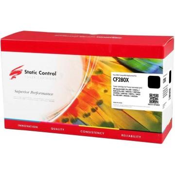 Static Control 002-01-VF280X совместимый лазерный картридж 80X Black   CF280X - черный, 6800 стр