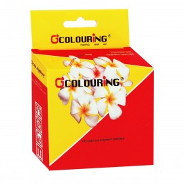 Струйный картридж Colouring CG_73N_Y, 250 стр, аналог T0734 Yellow | C13T10544A10, желтый