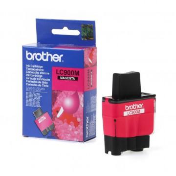 LC900M оригинальный струйный картридж Brother пурпурный, ресурс печати - 500 страниц